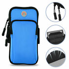 Arm Band Cell Phone Holder Key Bag Pouch Case Sports Gym Running Jogging Cover
