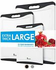 Extra Large Cutting Boards, Plastic Cutting Board for Kitchen Dishwasher Safe No