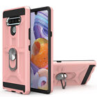 For LG Stylo 6/ Stylo 5/ 4 Hybrid Case Armor Phone Cover +Glass Screen Protector