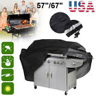 """57"""" 67"""" Outdoor BBQ Gas Grill Cover Heavy Duty Large Waterproof Garden Barbecue"""