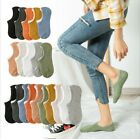 10 Pack Women Cotton No Show Socks Invisible Nonslip Low Cut Casual Sport Summer