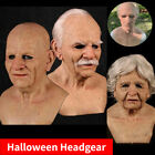Kyпить Latex Disguise Cosplay Old Man Mask Male Costume Halloween Party Realistic Masks на еВаy.соm