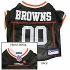 Cleveland Browns- Officially Licensed Dog NFL Jersey *FREE SHIPPING*