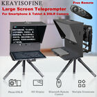Q2 Teleprompter Portable Video Live Streaming for Smartphone Tablet DSLR Camera