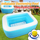 Children Bathing Tub Baby Toddler Paddling Inflatable Swimming Pool Kids Pla