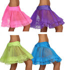 Bulk Wholesale Job Lots Ladies Petticoats/Tutus Fancy Dress 12 PCS 4 col 3 sizes