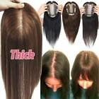 Deman Toupet Clip In Remy Haar Topper Echthaar Haarteile Toupee Loss Hair Topper
