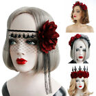 Hair Accessories Halloween Headbands Hair Wreath Wedding Garland Red Rose Crown
