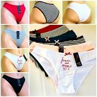 6-12 Women's BIKINI CHEEKY TEEN LOVE HI-CUT Panties Undies 95 COTTON 3980 S-XL