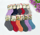 6 Pack Girl Boy Cashmere Wool Crew Socks 2-12Y Kid Child Thick Warm Multi-Color