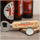 Husband Boyfriend Gifts PERSONALISED Birthday Christmas Bottle Opener Him Dad