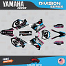 Yamaha YZ250 YZ125 Graphics Decal Kit  2002 to 2014 YZ 250  DIVISION-Pink Cyan