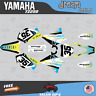 Yamaha YZ250 YZ125 Graphics Decal Kit  2002 to 2014 YZ 250 DREAM Series-CyanYel