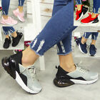 Ladies Trainers Sneakers Slip On Womens Jogging Plimsole Gym Lace Up Pumps Shoes