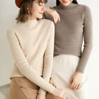 Woman Winter Cashmere Sweater Knitted Lady Pullovers Warm Thickening Turtleneck