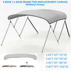 4 Bow Bimini Top Replacement Boat Cover 8Ft 91''-96'' 97''-103'' w/Boot no Frame