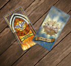 Holy Ghost laminated Catholic Holy Cards. Holy Spirit Catholic holy prayer cards