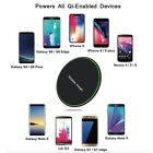 2x Qi Wireless Fast Charger Charging Dock for iPhone Samsung Pad Android Phone
