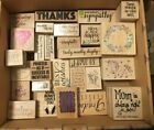 Hobby Lobby Wood Block Rubber Stamps 33 Assorted Designs ALL BRAND NEW 2.99 ea.