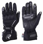 Rukka Virium Black Mens Goretex Nylon Waterproof Motorcycle Gloves