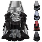 BP Womens Steampunk Ruffled Party Club Wear Punk Gothic Vintage Lace Skirt Dress