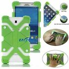 "For 7.9"" 8"" 8.4"" Tablet Universal Kids Silicone Bracket Back Case Cover Stand"