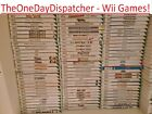 Nintendo Wii*multi-listing!* Cleaned & Tested!* All Games Only £5.95!*