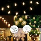 1.5-28M Christmas Garland Fairy String Lights  Berry with Pine Cone Home Decor