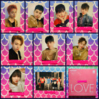 DKB Love 2nd Mini Album MMT Photocard Postcard