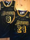 Kobe Bryant #24 or #8 Black Mamba Men's/Youth Stitched Los Angeles Lakers Jersey