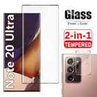 Внешний вид - Samsung Galaxy Note 20 Ultra Tempered Glass Screen Protector / Camera Lens Cover