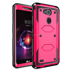 For LG X Power 2 / 3 / Fiesta 2 LTE/X Charge Hybrid Protective Rugged Case Cover