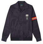 BNWOT FRED PERRY X ART COMES FIRST TAPED SLEEVE LIGHTWEIGHT JACKET RRP £195.00
