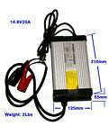 2A-20A 14.6V Lithium Iron Phosphate Battery Charger 4 Series 12V LiFePO4 Charger