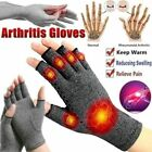 1 Pair Anti Arthritis Compression Gloves Hand Support Joint Pain Relief Therapy