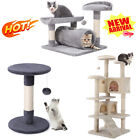 Multi Size Cat Tree Climbing Tower Scratching Post Kitty Play Activity Centre