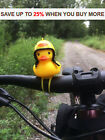 Bicycle Duck Bell With Light The Ducky Horn Helmet Wind Small Yellow Color Bike
