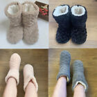 Women Ladies Warm Shoes Fur Slippers Thermal Dunlop Memory Foam Size Ankle Boots