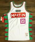 MARTIN 90s TV Show Martin Lawrence Authentic Basketball Jersey NEW by Headgear