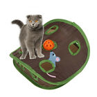 FM_ EE_ Simple 9-hole Cat Kitten Interactive Toy Ball Bell Mouse Hidden Pet Supp