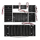 2X-10X AA Battery Holder Case Box with Leads Organizer Storage Container Craft