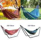 Portable Garden Double Hammock/steel Stand Travel Camping Swing Bed Outdoor Us