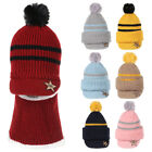 Face Guard Fleece Lining Caps Beanie Hat Boy Girl Baby Hat Balaclava Hat Scarf