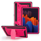 For Samsung Galaxy Tab S7 Plus 12.4 Inch Built-in Stand Shockproof Rugged Case