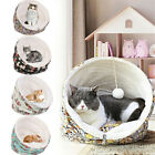 3 in1 Pet House Cave Cat Dog Soft Warm Nest Kennel Winter Igloo Bed Sleeping Bag