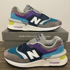 New Balance 997 Made In USA Fusion Grey Multi-Color Mens Sz NEW*M997SMG