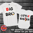 Big & Little Brother & Sister Mickey & Minnie Kids T-shirt Bodysuit Gift Set