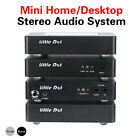 Mini Home Audio System WiFi DAC Media Player Headphone Amp Linear Power Supply