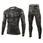 ESDY Men  Camo Outdoor Training Cycling Tight Sweat-absorbing Underwear Clothes