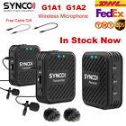 SYNCO G1 G1A1 G1A2 Wireless Lavalier Microphone System fr Smartphone Laptop DSRL